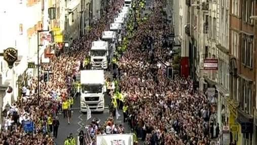 В Лондоне состоялся парад олимпийцев