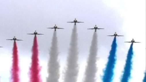 Британцы устроили грандиозный парад для олимпийской сборной