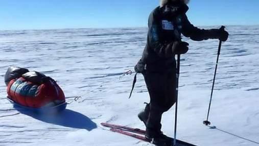 68-летний британец собирается пересечь Антарктиду на лыжах