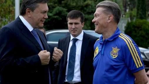 Янукович поздравил Блохина с 60-летием