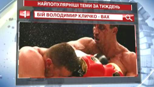 """Бій між Вахом і Кличком - найпопулярніший запит в """"Яндексі"""""""