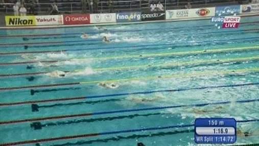 Украинские пловцы неудачно начали соревнования на чемпионате мира