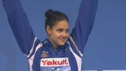 Украинка Дарья Зевина стала чемпионкой мира по плаванию