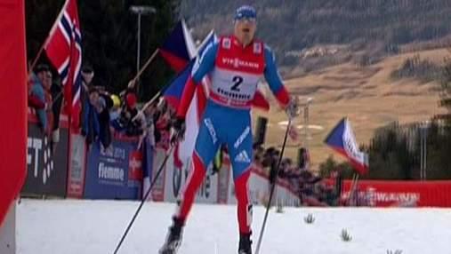 Російський лижник Олександр Лєгков уперше підкорив знамениту багатоденку