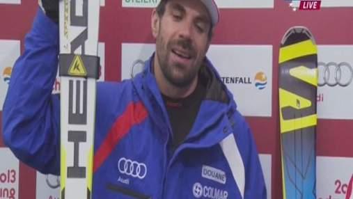 Гірські лижі: Тед Ліджетті несподівано тріумфував у Super G