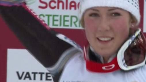 Гірські лижі: 17-річна Мікаела Шифрін - чемпіонка світу зі слалому