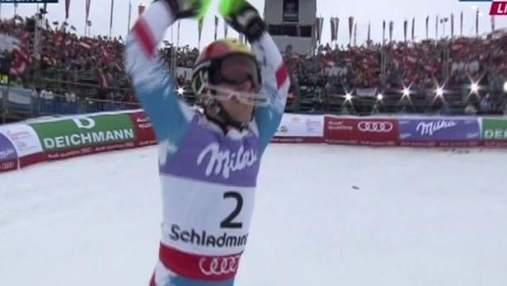 Гірські лижі: Марсель Хіршер - новий чемпіон світу у слаломі