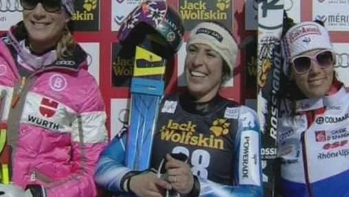 Гірські лижі: Іспанка Руїс Кастільо сенсаційно виграла швидкісний спуск