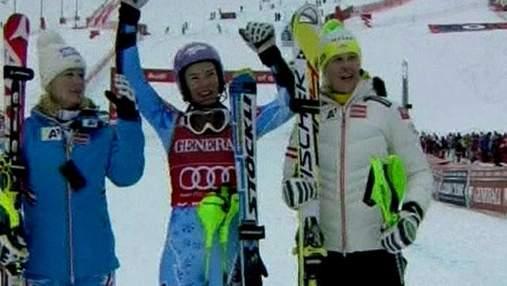 Тіна Мазе здобула вже 8 перемогу у поточному гірськолижному сезоні