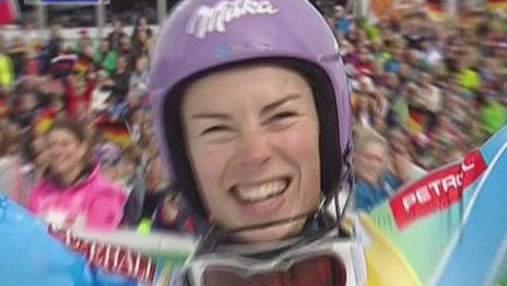 Гірські лижі: Тіна Мазе відсвяткувала ювілейну десяту перемогу в сезоні
