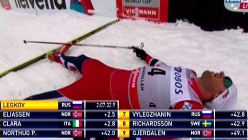Лижні перегони: Лєгков - переможець 50-кілометрового марафону