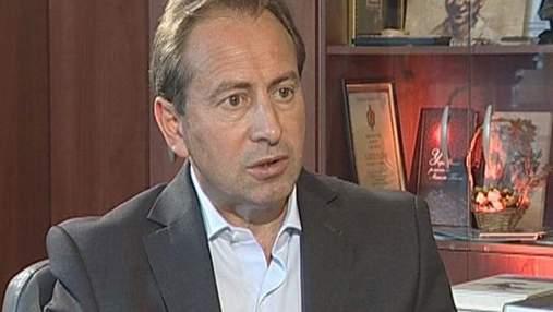 "Томенко: Во время Евро-2012 программу ""максимум"" мы не реализовали"