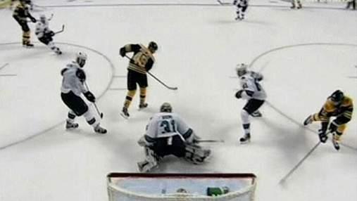 """Хоккеисты """"Сан-Хосе"""" потерпели поражения на последней секунде игры"""
