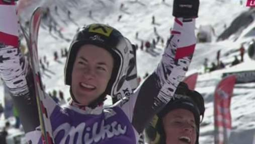 Гірські лижі: Лара Гут виграла першу гонку нового сезону