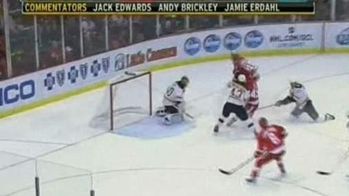 NHL. Лидеров Восточной конференции разгромили в Детройте