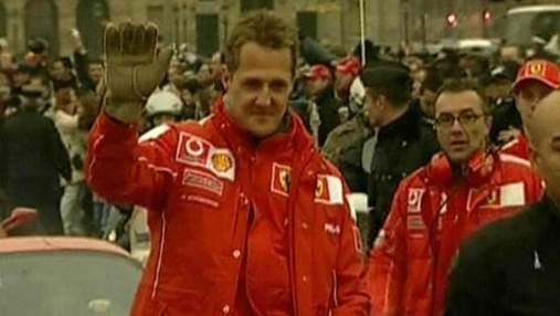 Шумахер впав у кому через сильну травму голови
