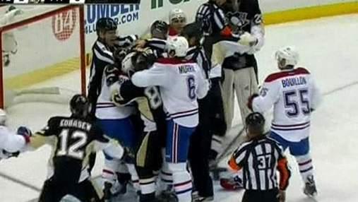 "Хоккеисты ""Питтсбург Пингвинс"" дома разгромили ""Монреаль"""