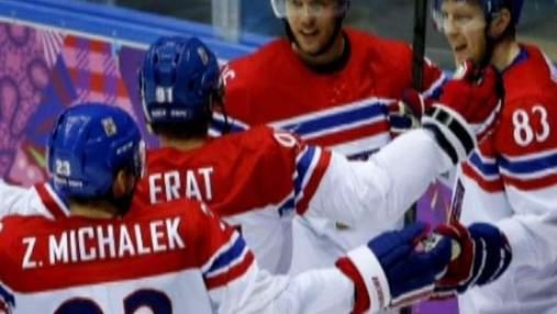 Сочи-2014: Сборная Чехии по хоккею усилиями Ягра победила латвийцев