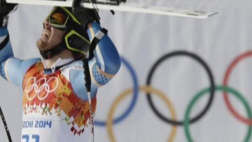 Украинский горнолыжник сумел финишировать в супер-гиганте