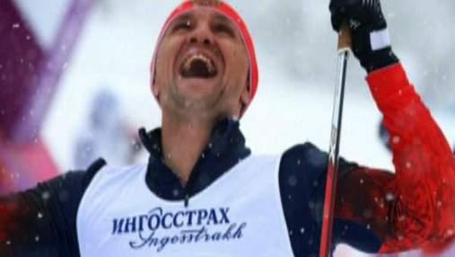 """Лыжные гонки. Украинская команда завоевала """"серебро"""" в открытой эстафете 4Х2, 5 км"""
