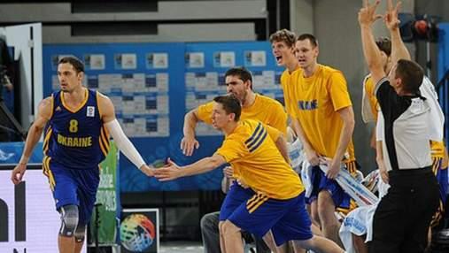Баскетбольная сборная Украины отправилась на чемпионат Европы