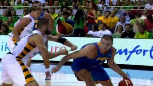 Сборная Украины едва не сотворила сенсацию в первом матче Евробаскета
