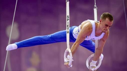Украинский гимнаст завоевал сразу четыре награды на престижных соревнованиях