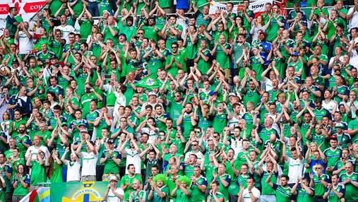 Фанати Північної Ірландії під час матчу співали про Україну як маленьку частину Росії