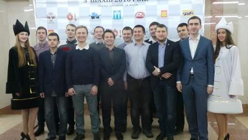 Звездный чемпионат Украины по шахматам открылся в Ровно