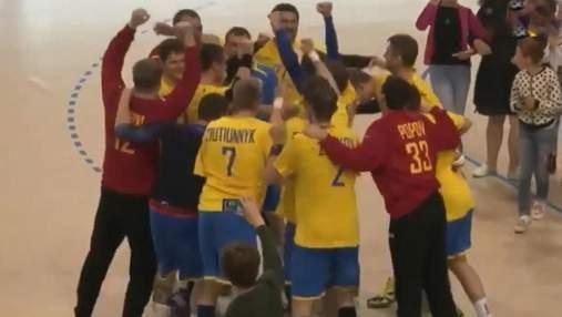 Збірна України з гандболу здобула другу поспіль блискавичну перемогу
