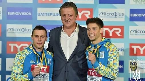 Українці вибороли десяту медаль чемпіонату Європи зі стрибків у воду
