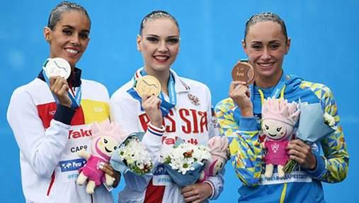 Украина получила первую медаль на чемпионате мира по водным видам спорта