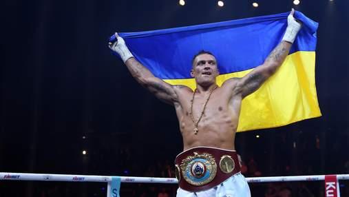 Усик присвятив Україні перемогу над Хуком