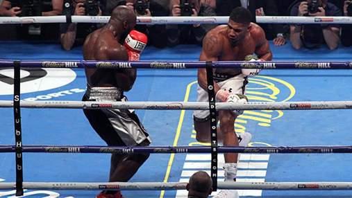 Перший бій після Кличка: Джошуа здобув ще одну суперечливу перемогу