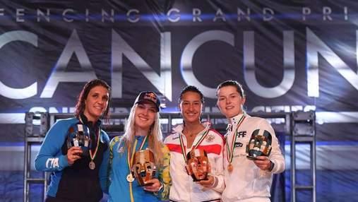Українка Ольга Харлан виграла золото на етапі Кубка світу у Мексиці