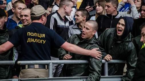 Лига Чемпионов: киевских правоохранителей обучали сдерживать разгневанных болельщиков