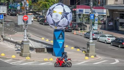 С одним из символов финала Лиги чемпионов в Киеве произошла неприятность: фото