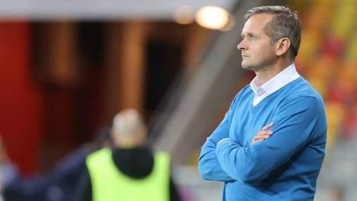 Фанати відлупцювали українського тренера після розгромної поразки та вильоту команди