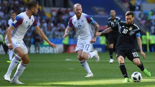Аргентина не сумела переиграть Исландию на Чемпионате мира 2018