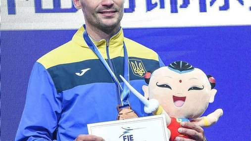 Шпажист Никишин удостоен звания лучшего спортсмена месяца в Украине