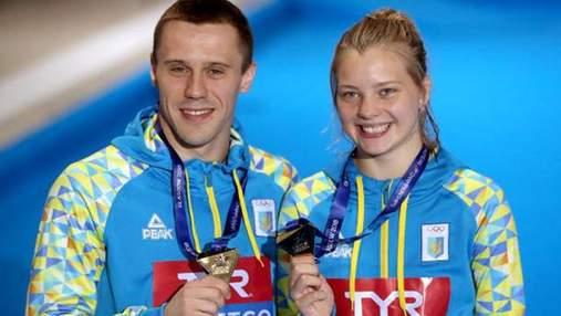 Украинцы стали чемпионами Европы по прыжкам в воду