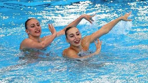 Украинские выиграли серебряные награды на Чемпионате Европы по синхронному плаванию