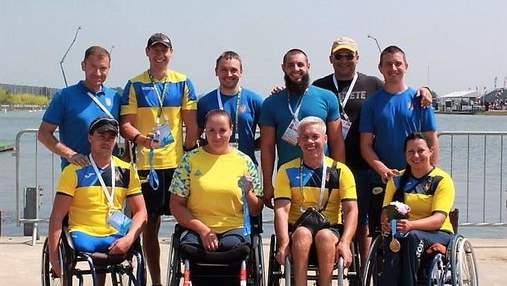 Национальная паралимпийская сборная команда по параканоэ стала вице-чемпионом мира