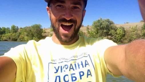 Дніпром із Києва в Одесу: українець зважився на неймовірний рекорд, щоб допомогти пенсіонерці