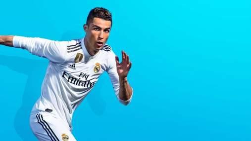 FIFA 19: Криштиану Роналду получил первый в мире экземпляр игры