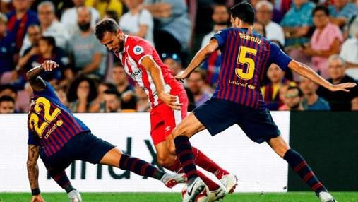 """""""Барселона"""", несмотря на гол Месси, впервые в сезоне потеряла очки"""