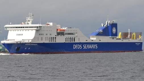 В Балтийском море взорвался паром с сотнями пассажиров на борту