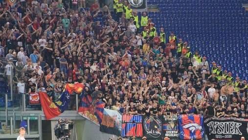 УЄФА відкрила справу через сутички російських фанатів ЦСКА у Римі