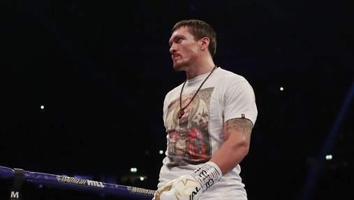 Усик поднялся на третье место в рейтинге лучших боксеров мира