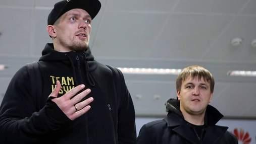 Усик повернувся до Києва: боксер розповів,  на що чекати після перемоги над Белью